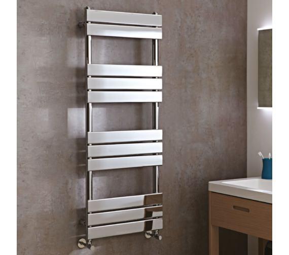 Phoenix Sorento Designer Flat Panel Towel Rail 500mm x 1300mm - RA012