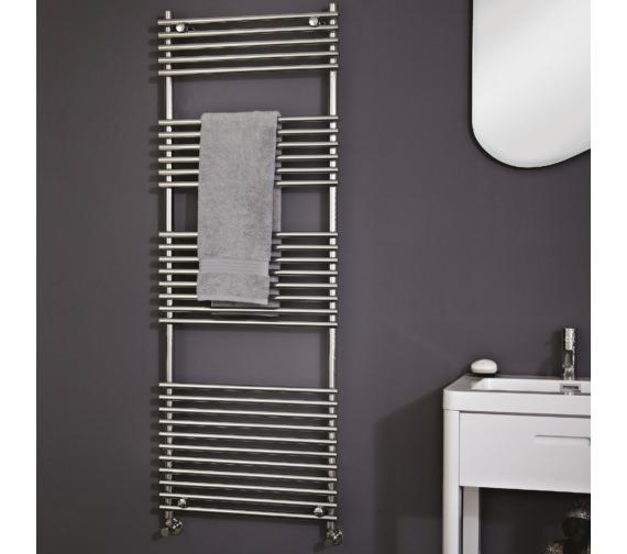 Phoenix Demi Designer Towel Rail 500 x 800mm - RA013