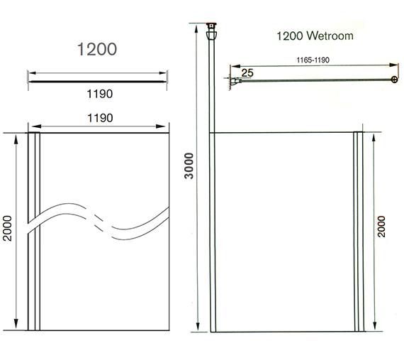 Technical drawing QS-V41222 / AQ2012