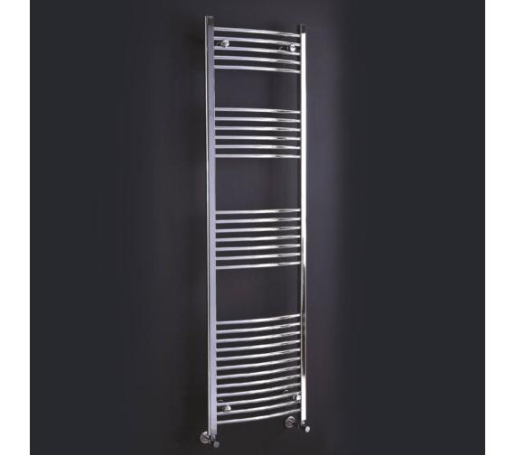 Phoenix Gina Curved Designer Towel Rail 500mm x 1800mm - RA019