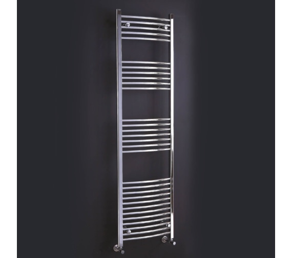 Phoenix Gina 600mm Wide Curved Designer Towel Rail