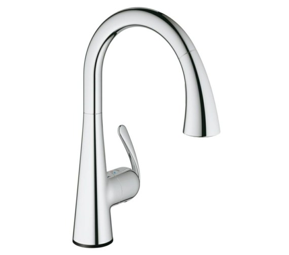 Grohe Zedra Touch Half Inch Electronic Kitchen Sink Mixer Tap