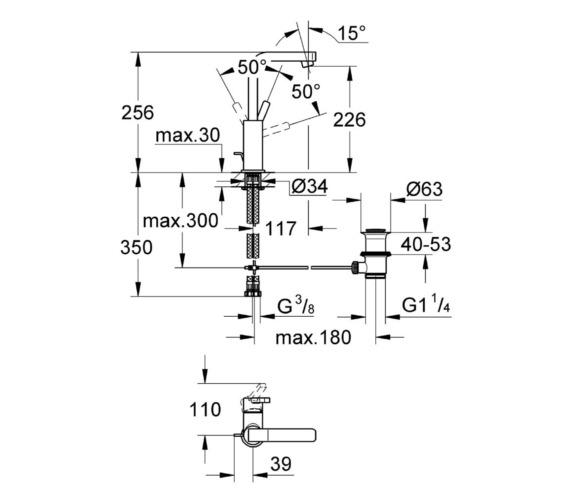 Technical drawing QS-V81840 / 23296000