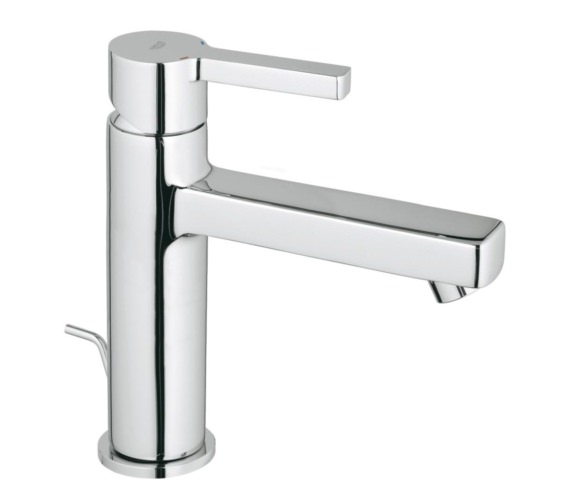 Grohe Lineare M-Size Half Inch Basin Mixer Tap With Pop Up Waste