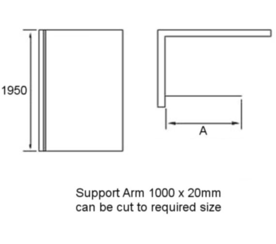 Technical drawing QS-V86001 / AP9407S
