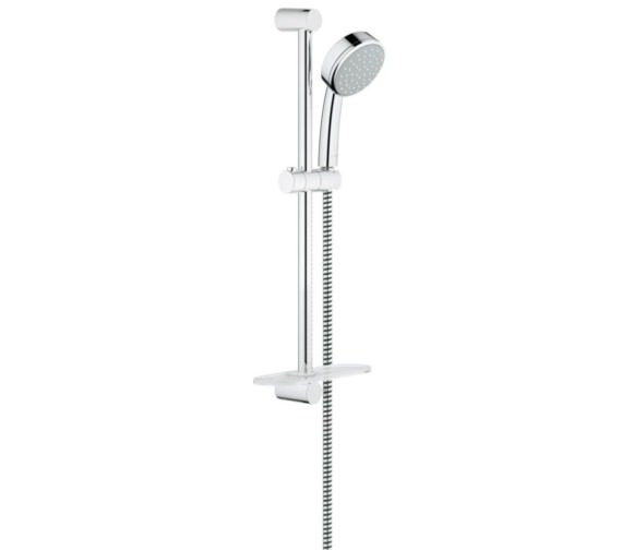 grohe new tempesta cosmopolitan 100 shower rail set 26083001. Black Bedroom Furniture Sets. Home Design Ideas