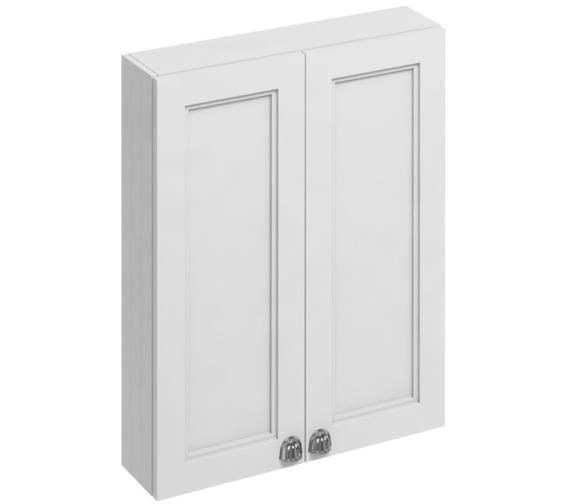 Burlington 600mm Double Door Cabinet Matt White