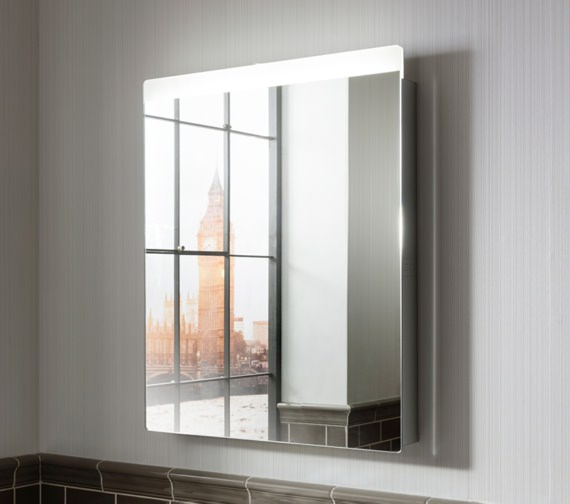 Alternate image of Bauhaus Revive 3.0 LED Illuminated Mirror 600 x 800mm