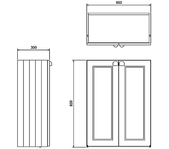 Technical drawing QS-V83771 / F60S