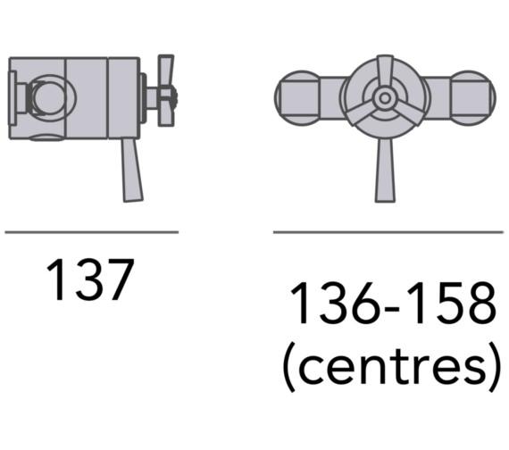 Technical drawing QS-V82392 / SGRDCB03