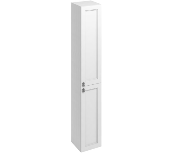 Burlington 300mm Double Door Tall Base Unit Matt White