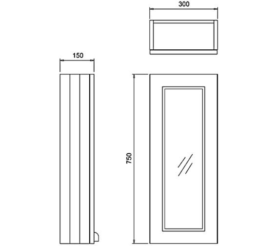 Technical drawing QS-V83780 / F3MS