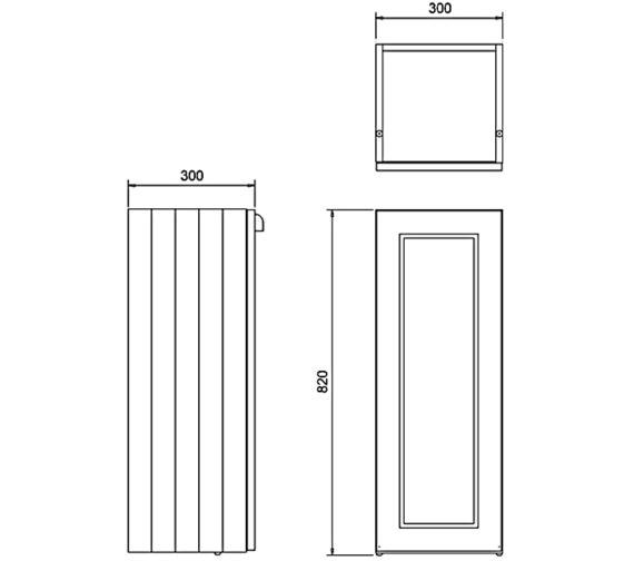 Technical drawing QS-V83774 / F30S