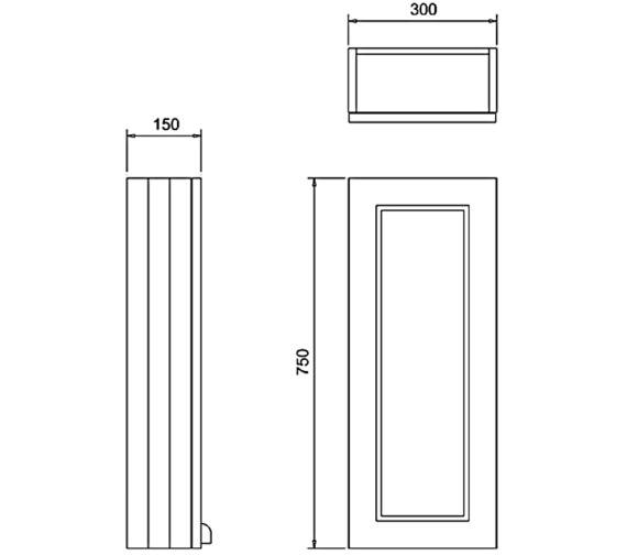 Technical drawing QS-V83776 / F3WW