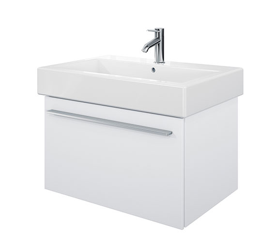 Duravit X-Large 750mm Vanity Unit With 800mm Vero Washbasin