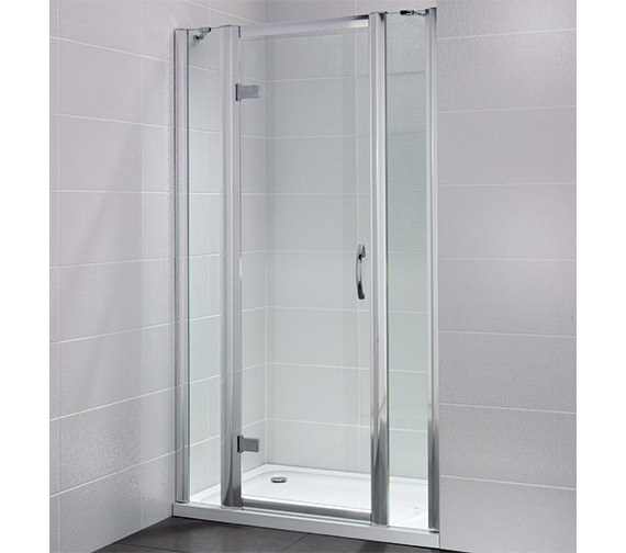 Additional image of April Identiti2 1000mm Semi Frameless Hinged Shower Door