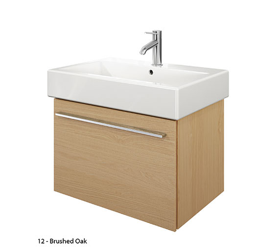 Duravit X-Large 650mm Vanity Unit With 700mm Vero Washbasin