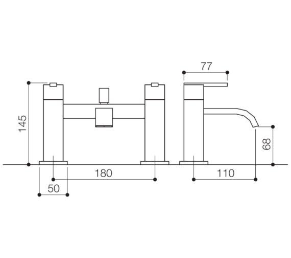 Technical drawing QS-V31003 / IFL007