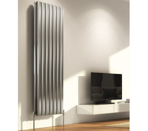 DQ Heating Sol Single Vertical Designer Radiator 550 x 1800mm