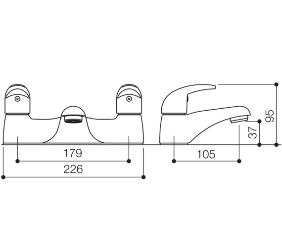 Technical drawing QS-V31115 / TT005