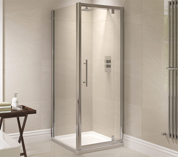 April Prestige 800mm Pivot Shower Door