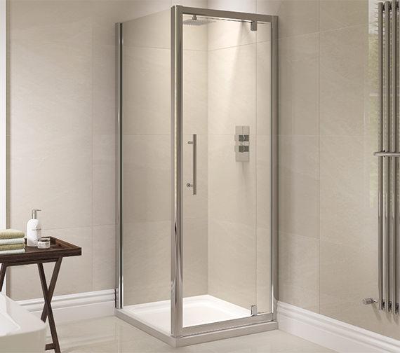 April Prestige 760mm Pivot Shower Door Ap8226s