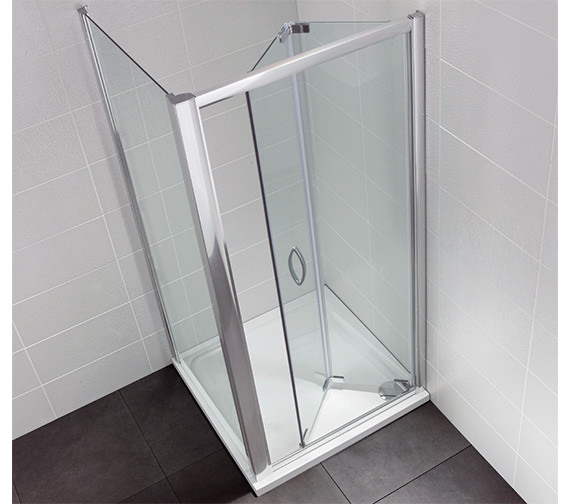 April Identiti2 900mm Bifold Shower Door