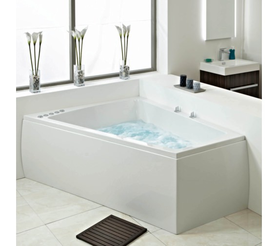Phoenix Figura Amanzonite 1700 x 1300mm Left Handed Bath With Panel