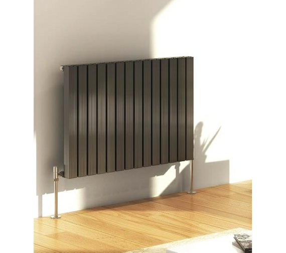 DQ Heating Capella Horizontal Designer Radiator 590 x 600mm