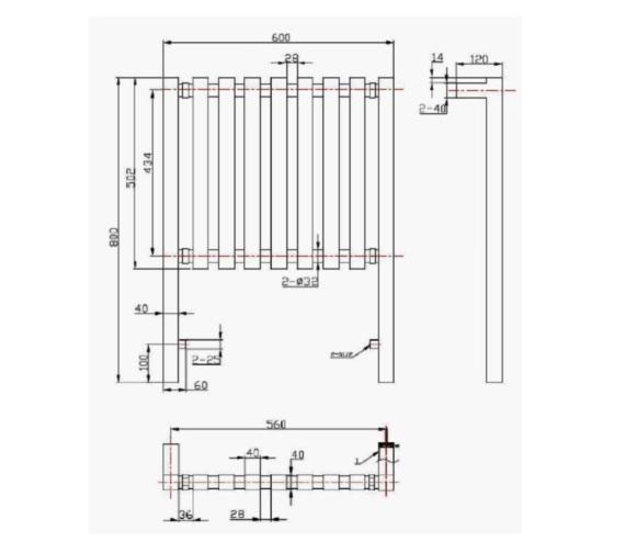 Technical drawing QS-V21328 / RA065