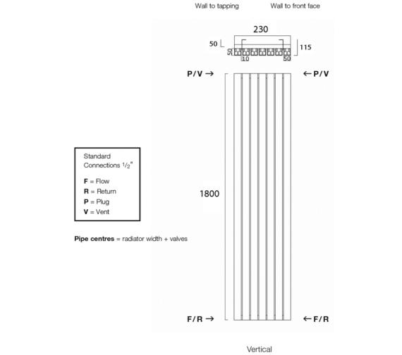 Technical drawing QS-V17956 / Capella180/4