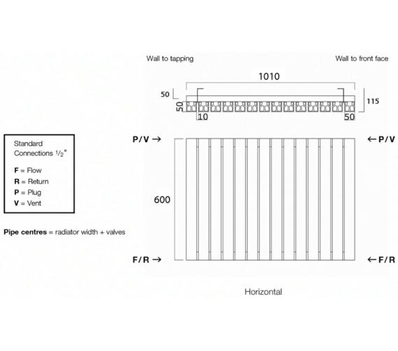 Technical drawing QS-V17962 / Capella60/17