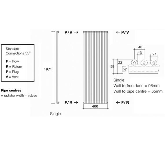 Technical drawing QS-V17971 / VUL1 197/10 V