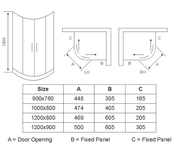 Technical drawing QS-V54683 / AP8112S