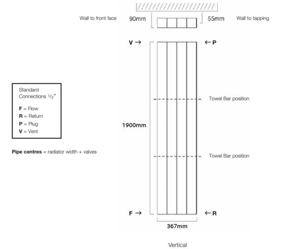 Technical drawing QS-V17919 / Vela 190/3