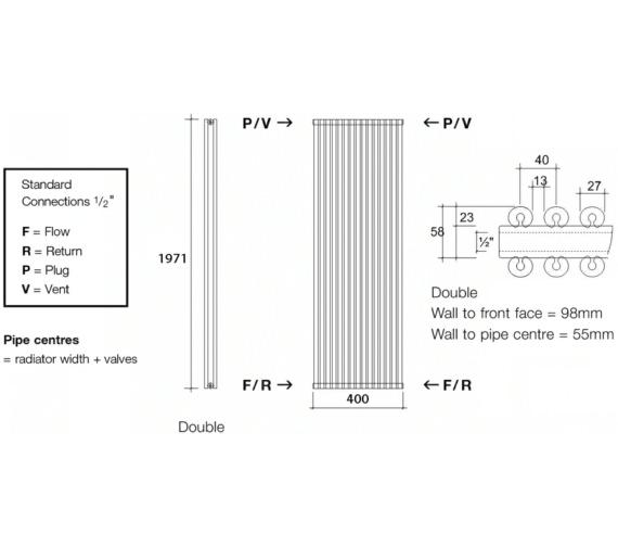 Technical drawing QS-V17983 / VUL2 197/10 V