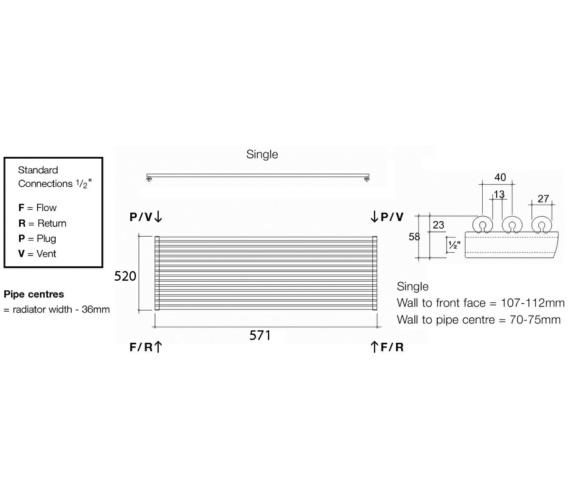 Technical drawing QS-V17989 / VUL1 57/13 H