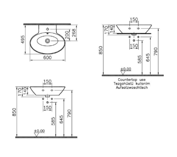 Technical drawing QS-V81846 / 4424B003-0001