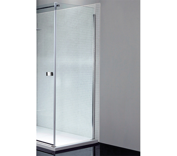 April Prestige Frameless 700mm Wide Side Panel