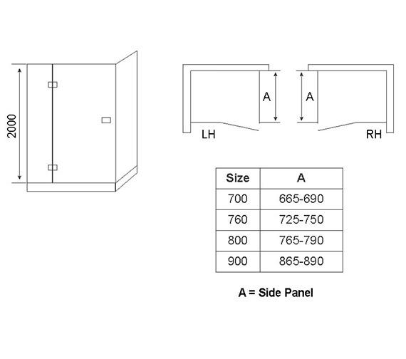 Technical drawing QS-V54667 / AP8905