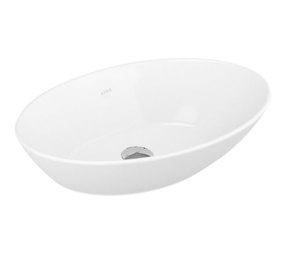Vitra Geo 600mm Oval Countertop Washbowl