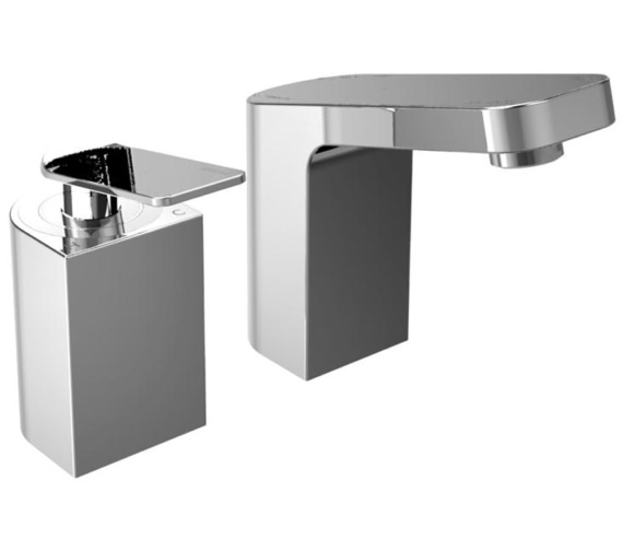 Bristan Alp 2 Hole Bath Filler Tap Chrome