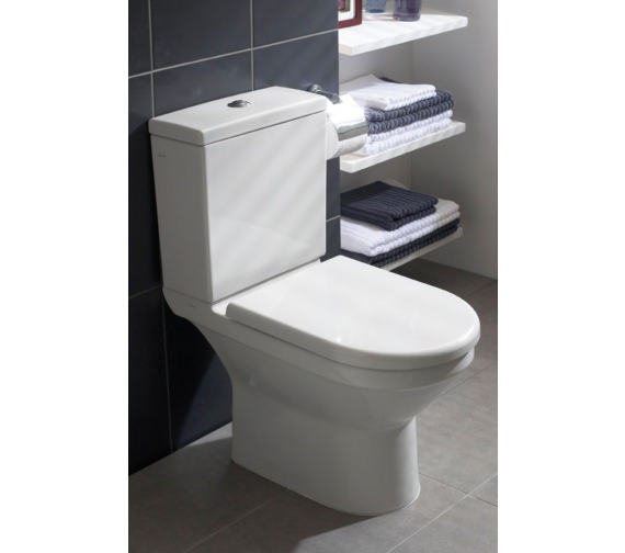 Vitra S50 Comfort Height Close Coupled Toilet With Cistern And Seat