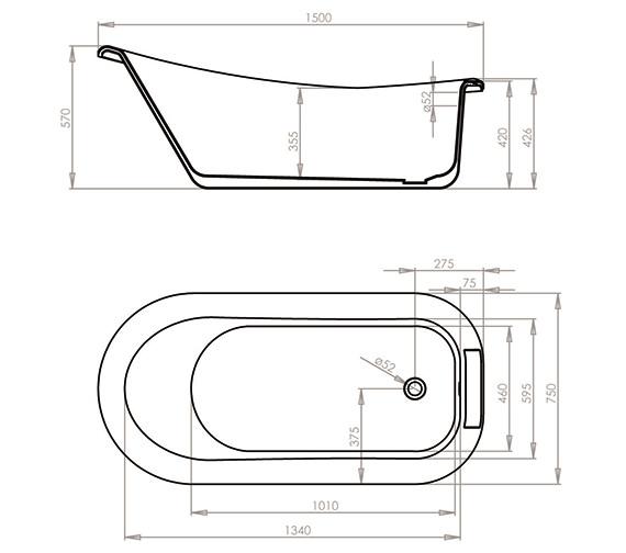 Technical drawing QS-V54694 / 28A1510