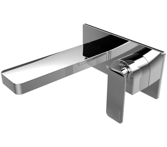 Bristan Alp Wall Mounted Basin Mixer Tap Chrome