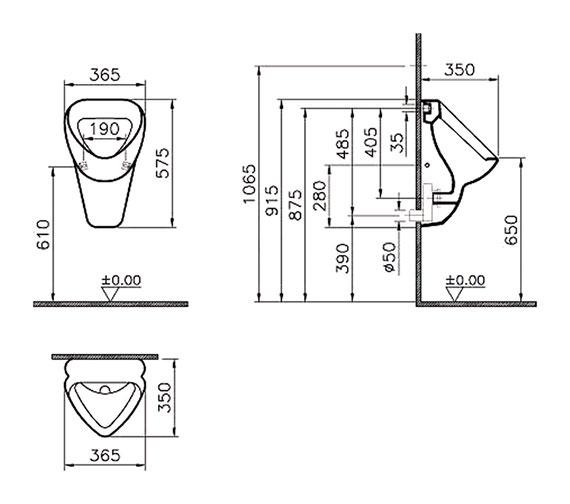 Technical drawing QS-V81849 / 6663B003-0199
