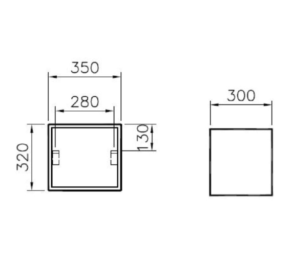 Technical drawing QS-V81859 / 58983