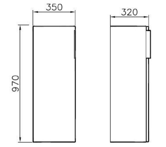 Technical drawing QS-V81858 / 58955