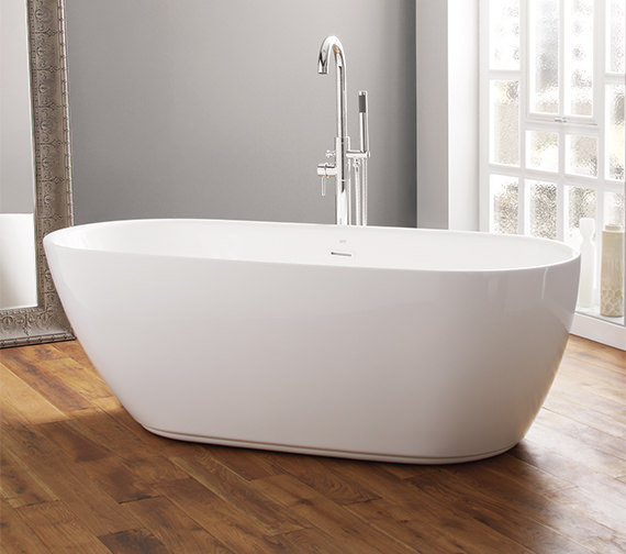 April Harrogate 1700 x 750mm Contemporary Freestanding Bath