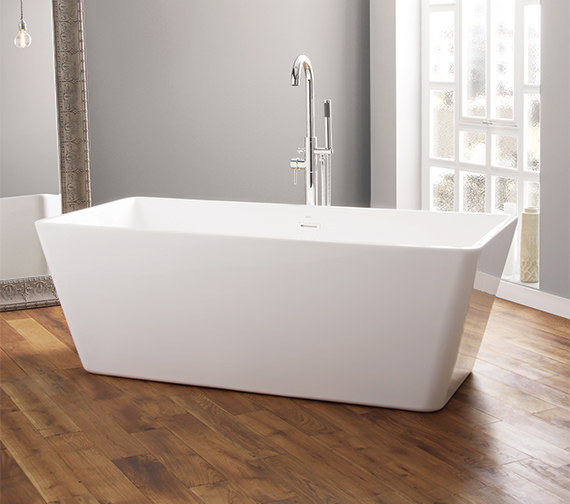 April Boston 1700 x 750mm Contemporary Freestanding Bath